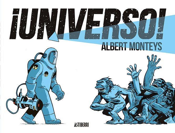 ¡Universo! de Albert Monteys portada