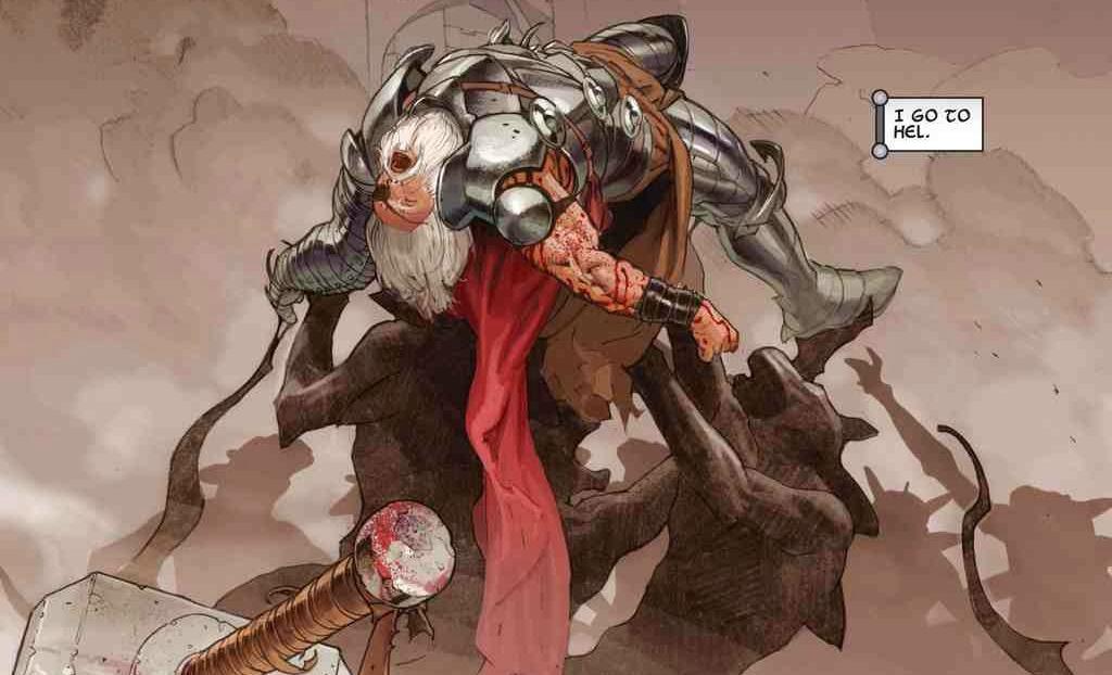 Marvel NOW! Deluxe. Thor de Jason Aaron 1 viejo thor