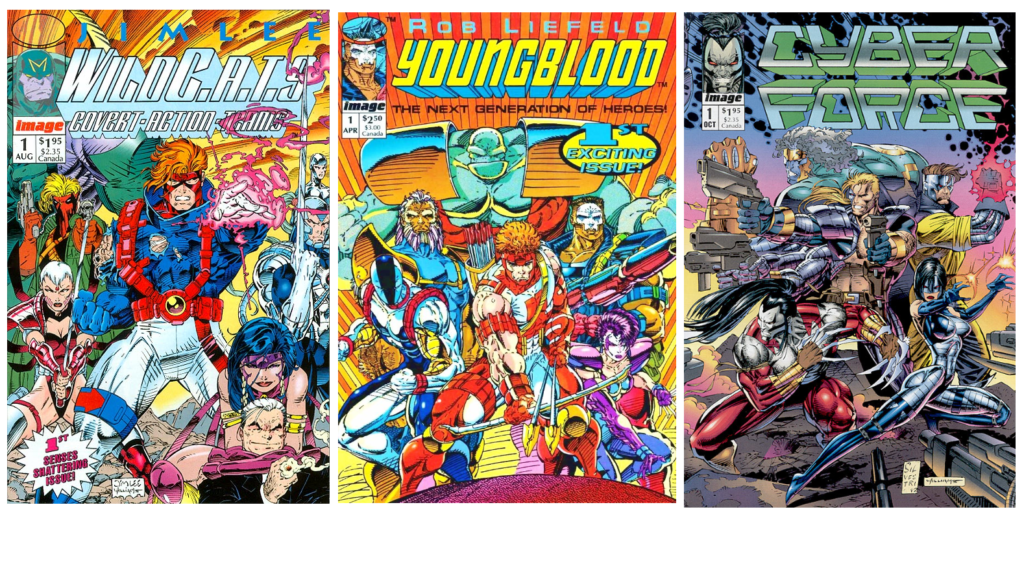 WildC.A.T.S. de Alan Moore Super teams