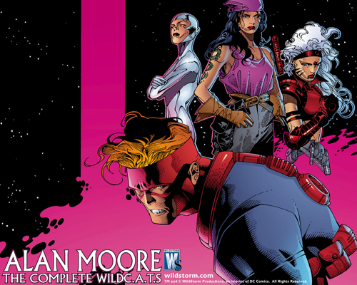 WildC.A.T.S. de Alan Moore team