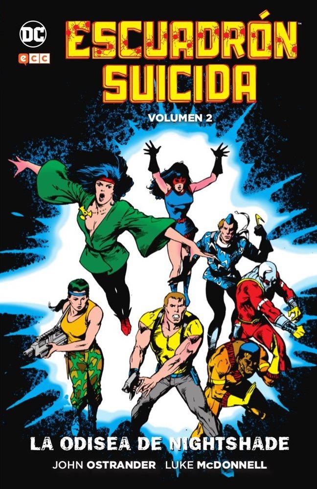 Escuadrón Suicida: La odisea de Nightshade portada
