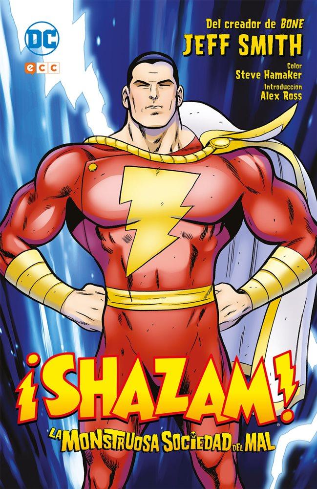 ¡Shazam! La monstruosa sociedad del mal portada