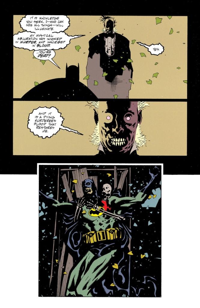 El universo DC de Mike Mignola Sanctum