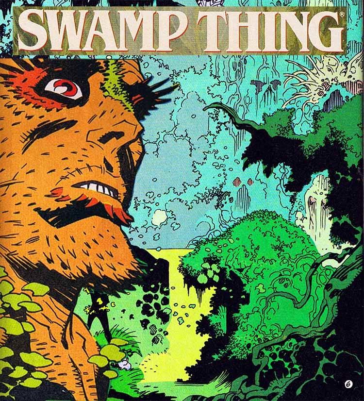 El universo DC de Mike Mignola Swamp Thing