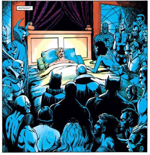 La muerte del Capitan Marvel
