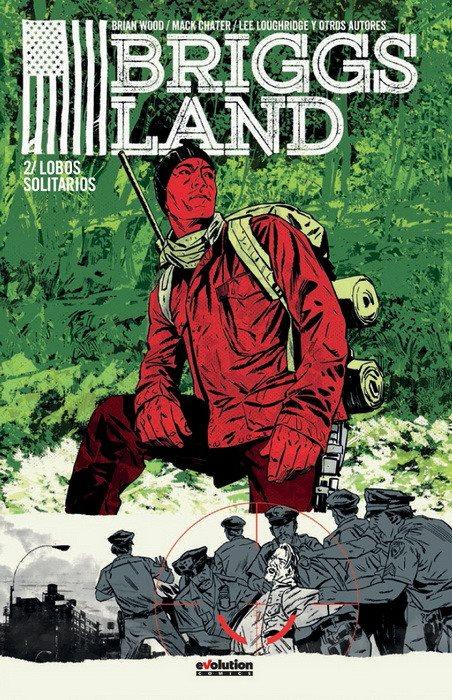 Briggs Land 2: Lobos solitarios portada