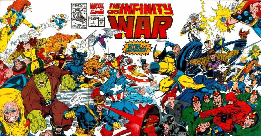 la guerra del infinito 2