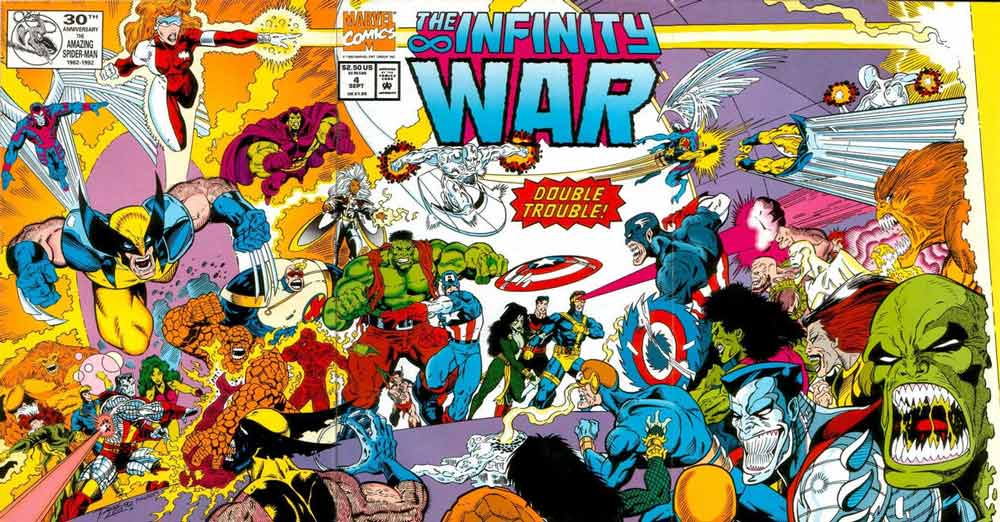 la guerra del infinito 4