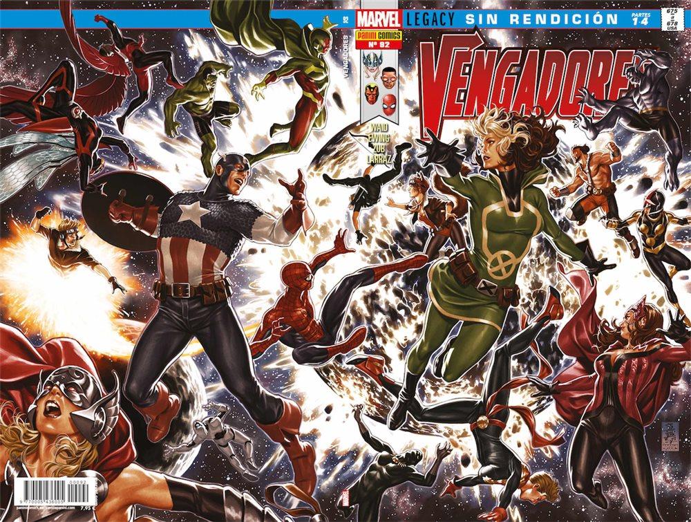 Vengadores 92: Sin rendición portada