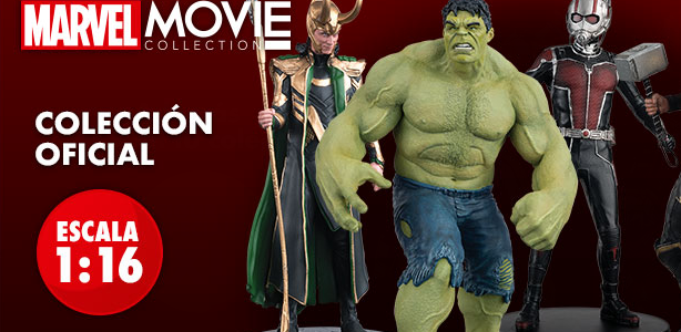 Coleccionable de Figuras Marvel Movie Collection.