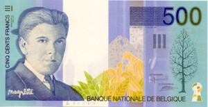 500 francos magritte