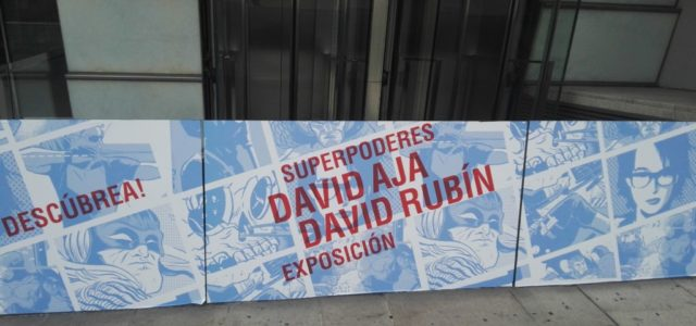 Exposición «Superpoderes». David Aja y David Rubín.