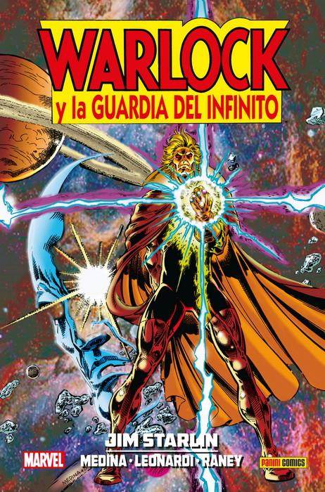 jim starlin 8 warlock y la guardia del infinito