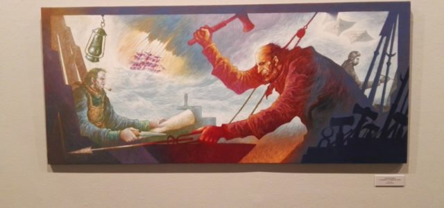 Viñetas 2018. Exposición de José Ramón Sánchez.