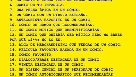 Reto Pensadores de viñetas (XXI)