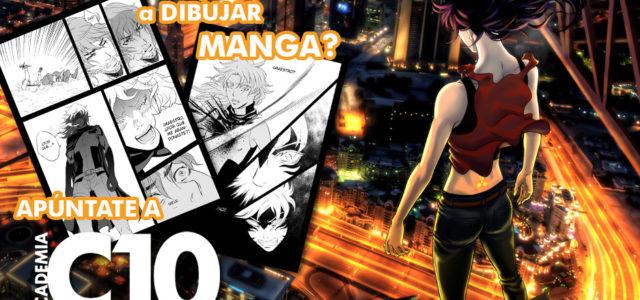 Curso de dibujo manga en Academia C10