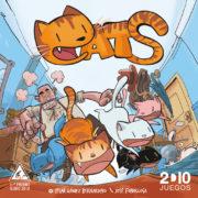 Cats, juego de tablero de Cesar Gomez, ilustrado por José Fonollosa.