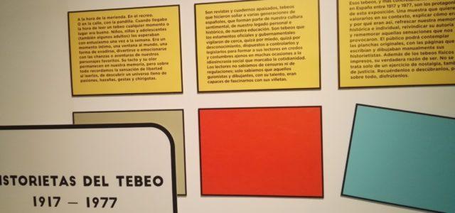 Exposición Historietas del tebeo, 1917-1977.
