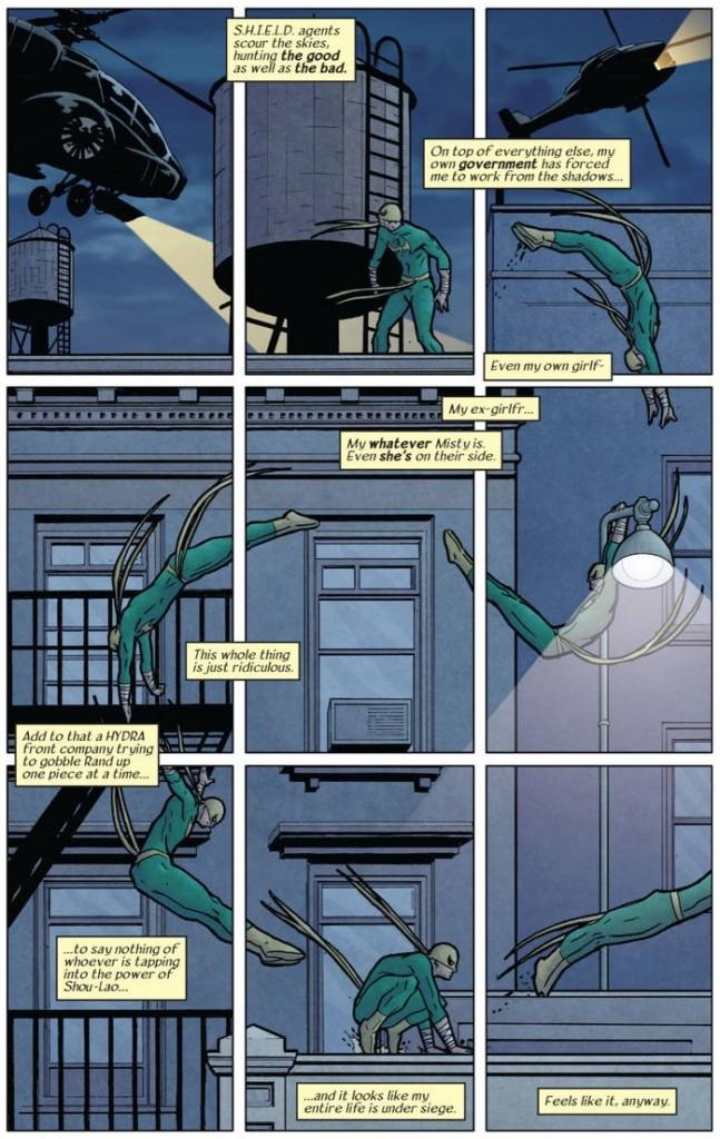 Marvel Saga. El Inmortal Puño de Hierro 1 action