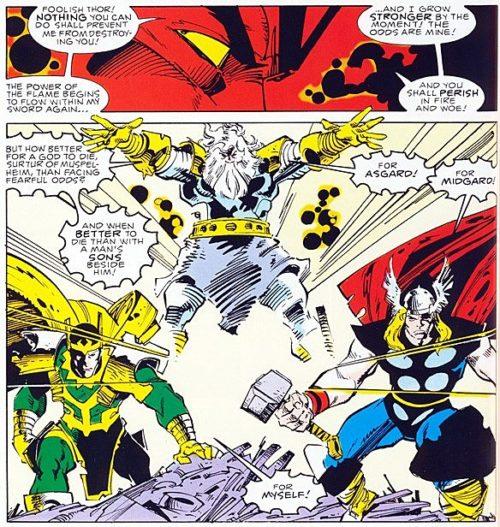 Thor Loki Odin Reto Pensadores VII Alain