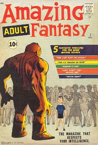 amazing fantasy 7