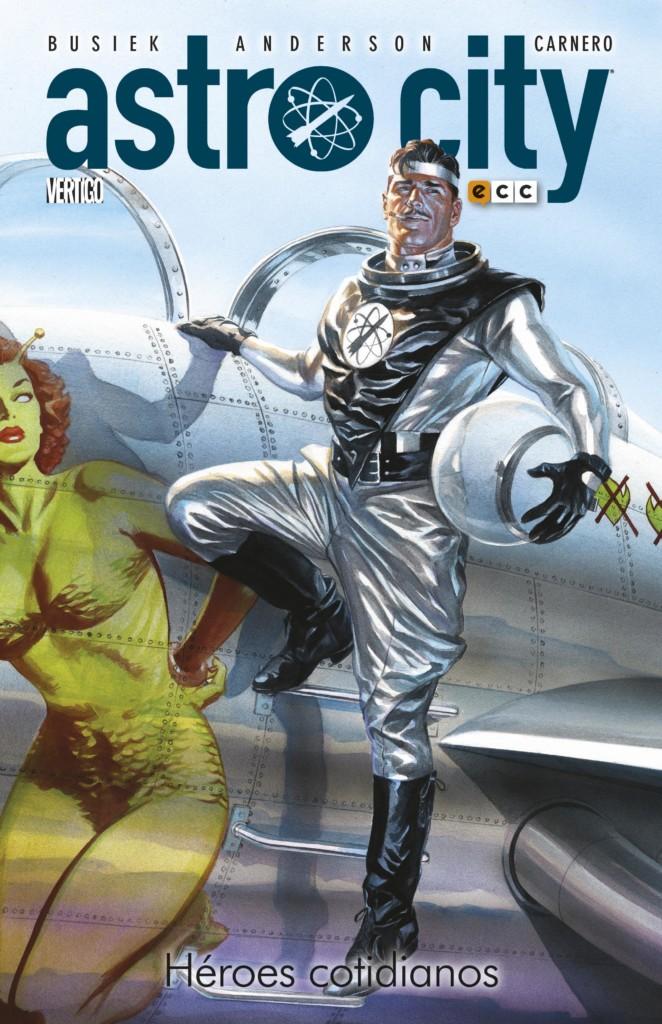 Portada Astro City: Héroes Cotidianos
