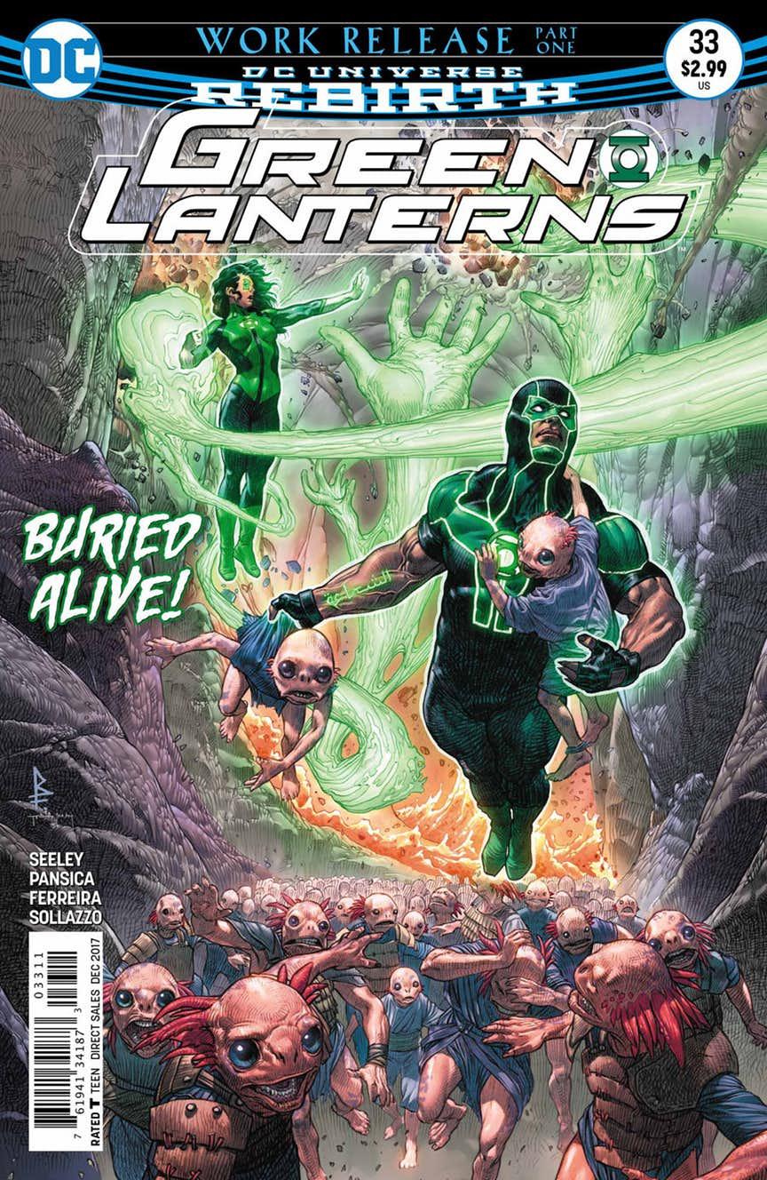 green lanterns num 33