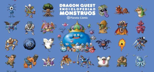 Dragon Quest: Enciclopedia de Monstruos.