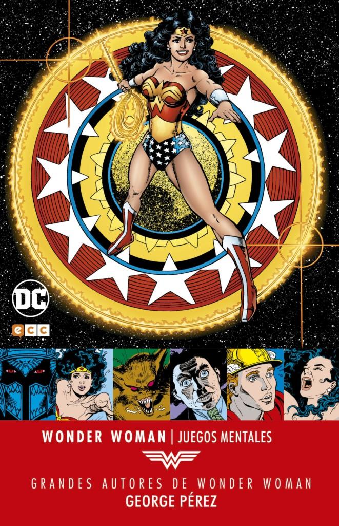 Grandes Autores De Wonder Woman George Perez Juegos Mentales
