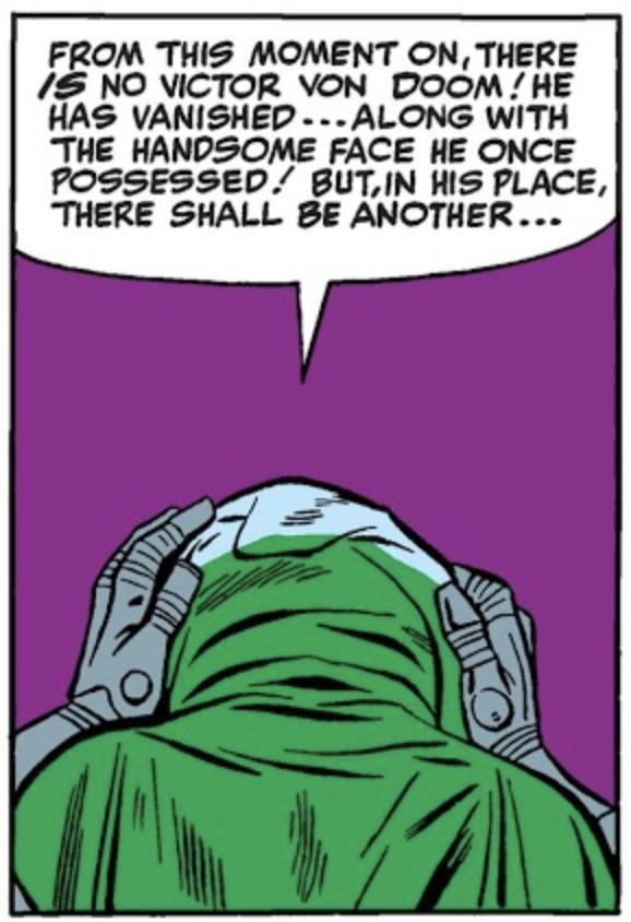 100% Marvel HC. Doctor Muerte Origen fin
