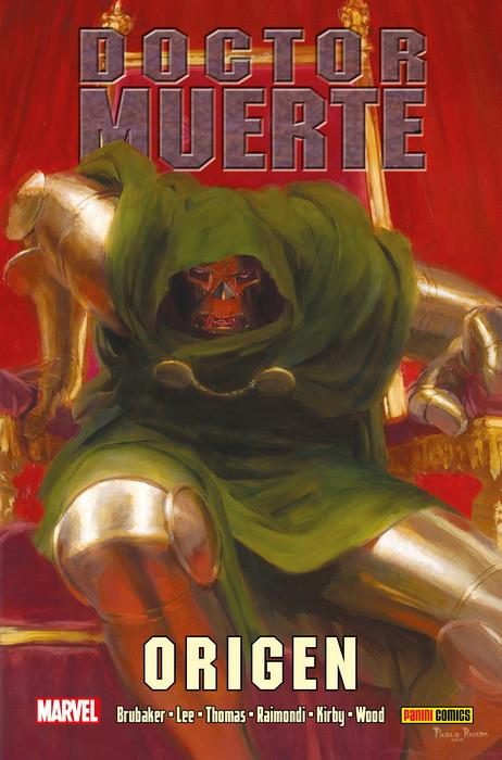 100% Marvel HC. Doctor Muerte Origen portada
