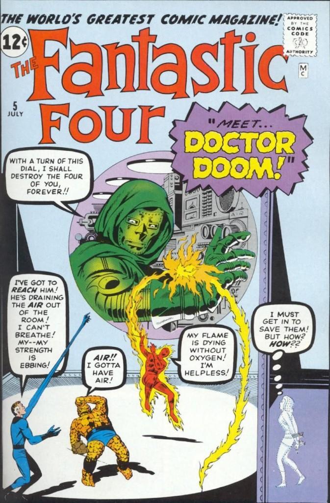 100% Marvel HC. Doctor Muerte Origen primera aparición