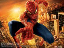 Poster promocional de spiderman2