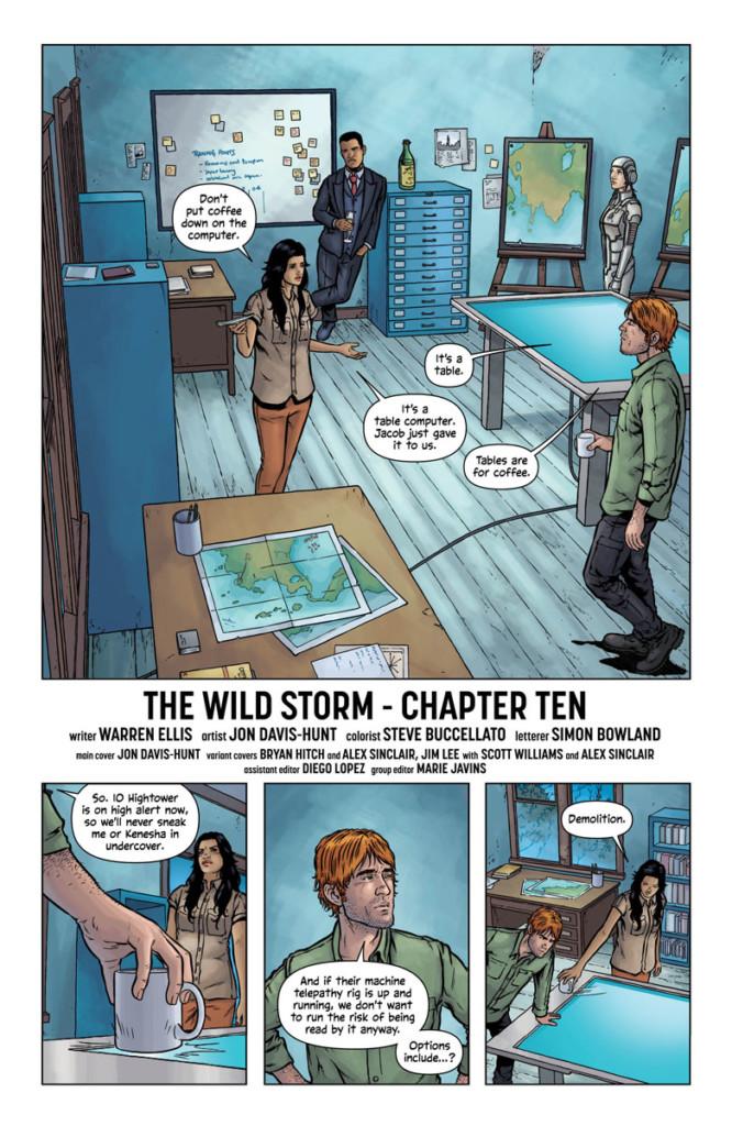 The Wild Storm 1-2 (de 4)