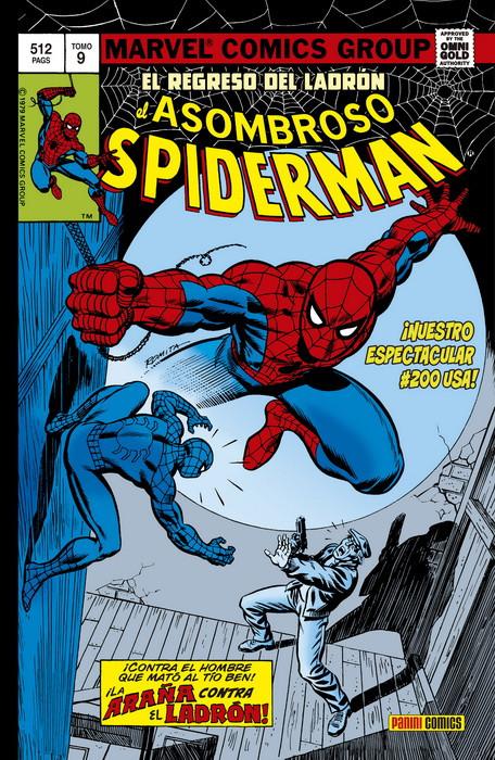 omnigold spiderman 9 el regreso del ladrón