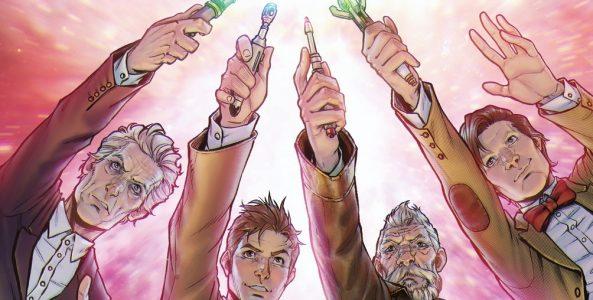 Doctor Who: Cuatro Doctores.
