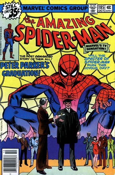 spiderman graduación