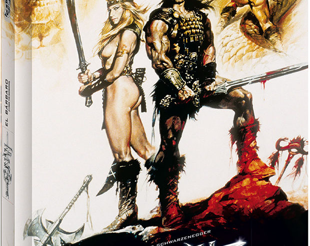Conan, El Bárbaro – Collector's Cut Blu-ray