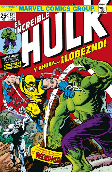 Marvel Facsímil: The Incredible Hulk 181