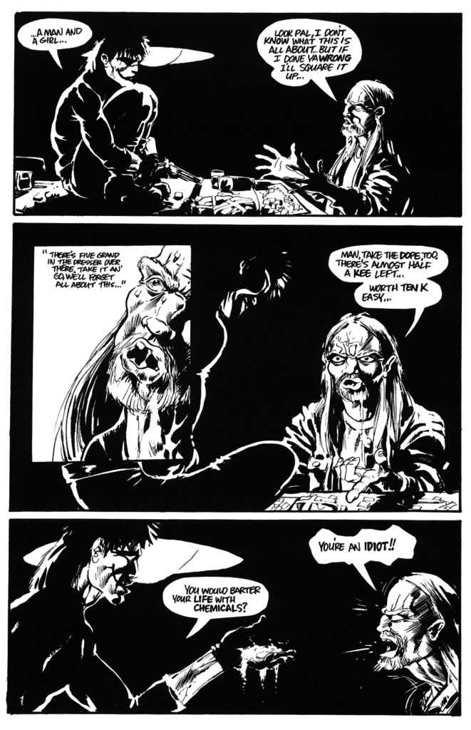 the crow pg