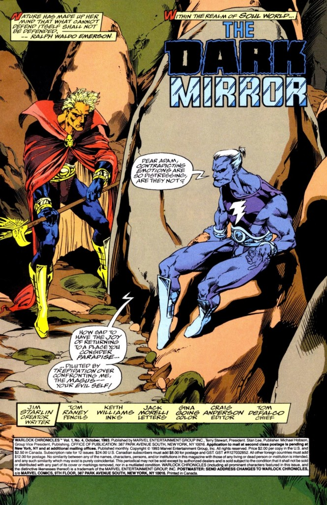 warlock chronicles pagina