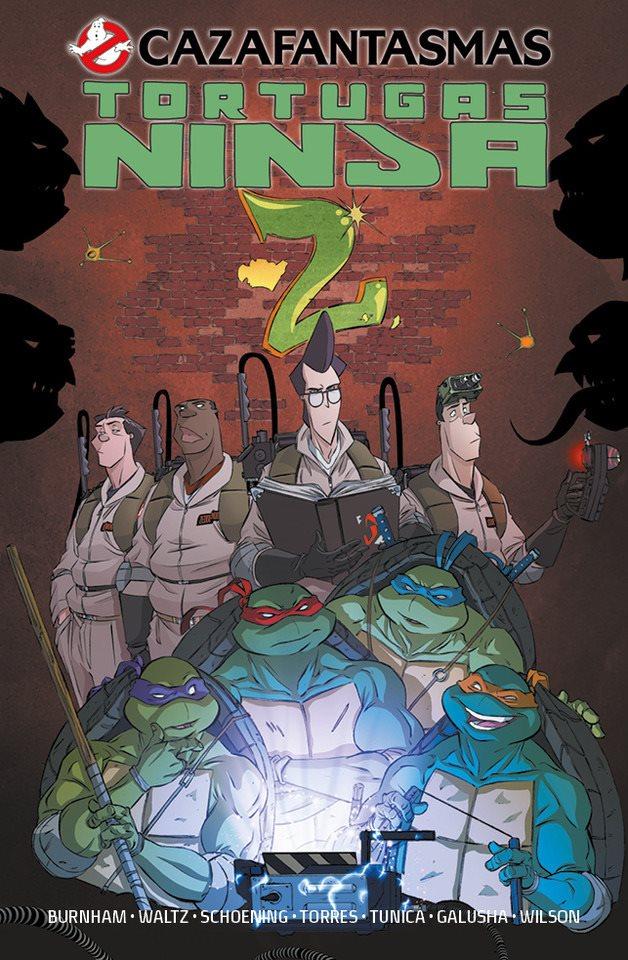 cazafantasmas tortugas ninja II