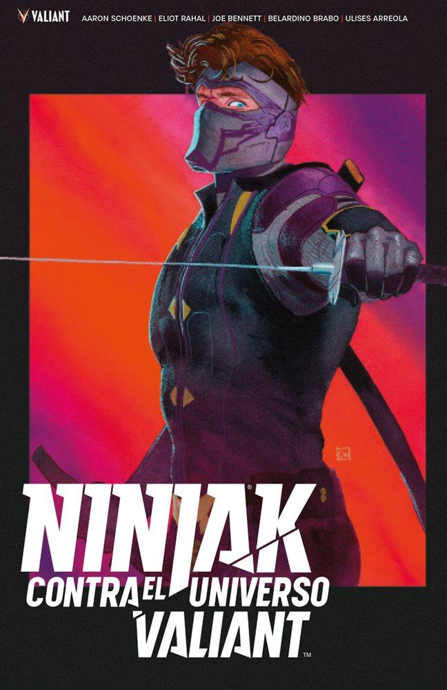 Ninjak contra el Universo Valiant portada