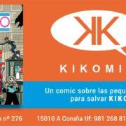Librería Paradiso. Un cómic para salvar Kikomic.
