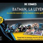 Unboxing del coleccionable Batman, la leyenda