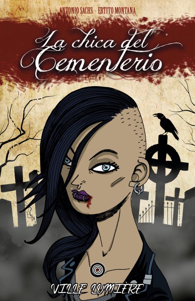 Novedades Ed. Dimensionales marzo 2019 - La chica del cementerio - Volumen 1: Ville Lumière