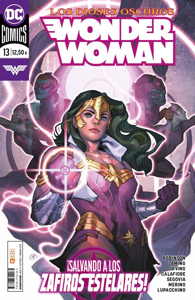 wonder woman 13 los dioses oscuros