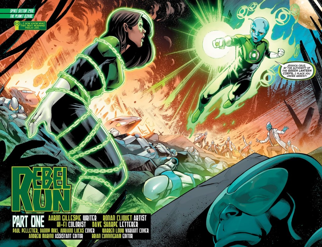 green lanterns rebel run