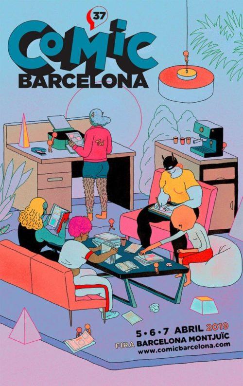 Cartel 37 Comic Barcelona