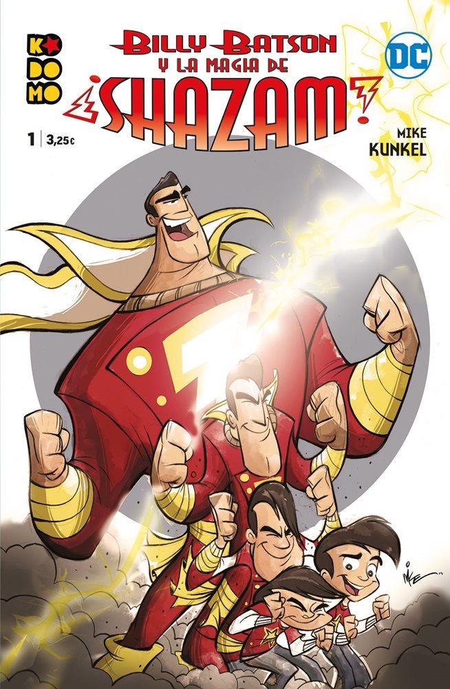 Billy Batson y la magia de Shazam